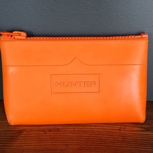 Hunter rubber cosmetic pouch
